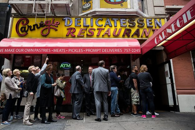 New York's Famed Carnegie Deli Set To Close At End Of The Year