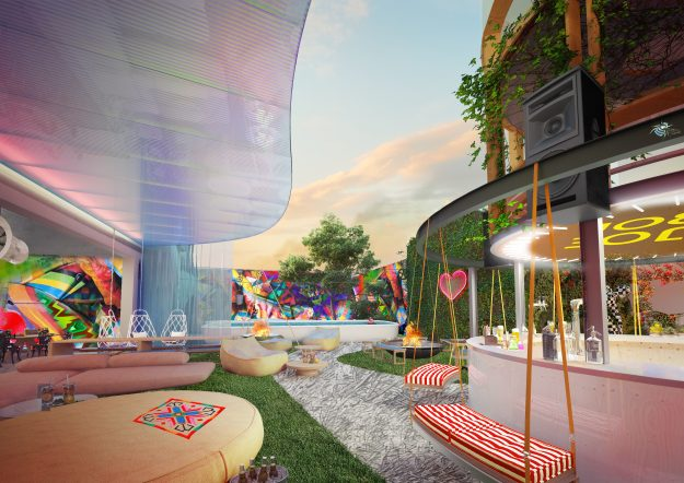 What a garden communal space could look like at Jo&Joe