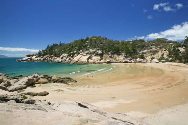 Australia's Magnetic Island, view of Alma Bay.