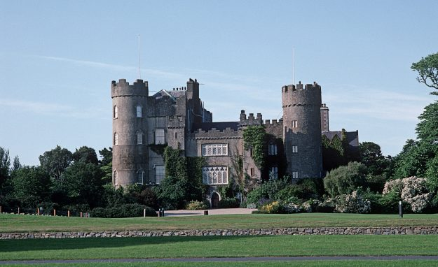 Malahide Castle in Dublin was referred to in James Joyce 'Ulysses.' Image: Alain Le Garsmeur/Corbis via Getty Imagea