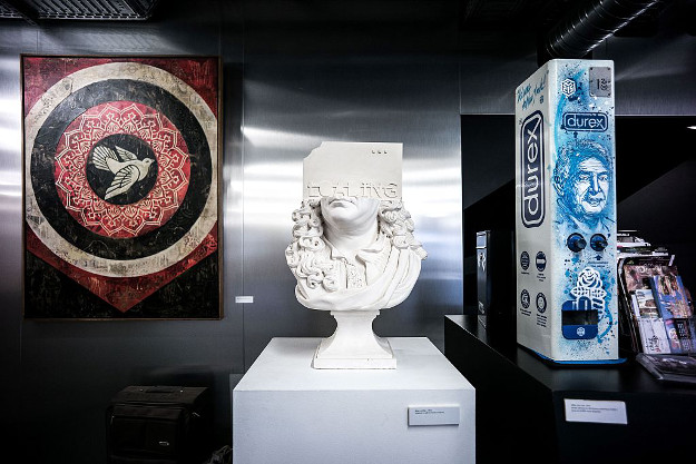A new museum dedicated to street art has opened in Paris