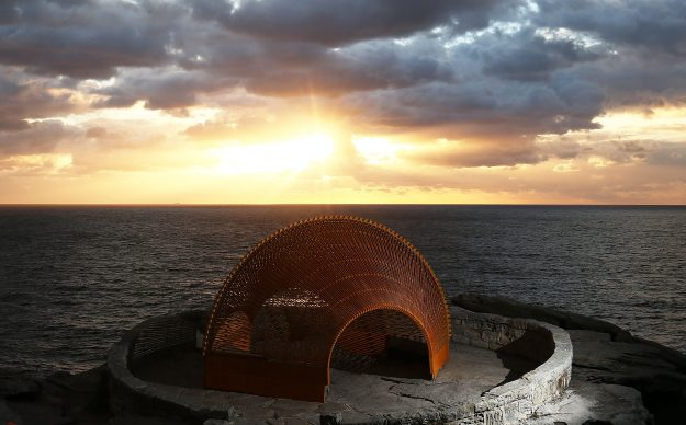 The exhibition is due to run until November 6 at Bondi Beach.