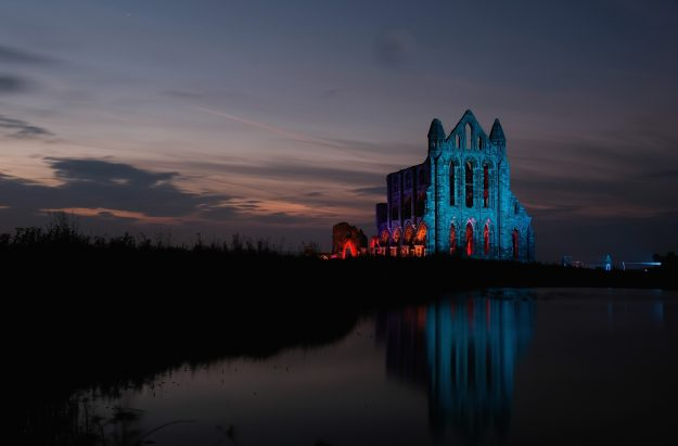 The historic Abbey will be lit up for four nights in the run up to Halloween.