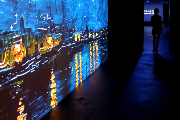 Van Gogh Alive - The Experience will run at Palazzo degli Esami in Rome until 2017.