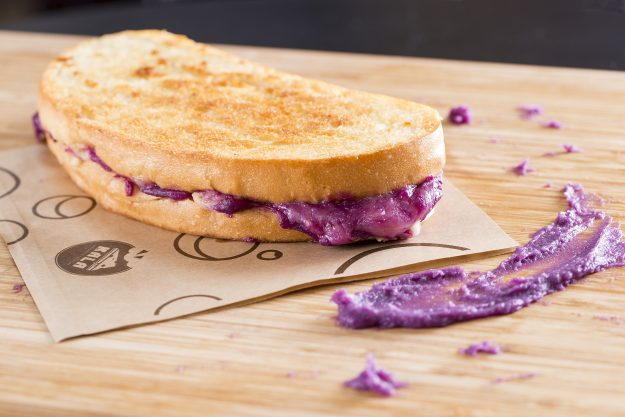 Purple Grilled Cheese by KALA.