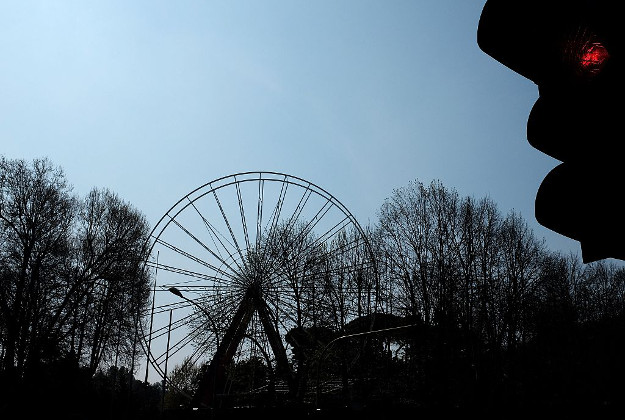 Ferris wheel at Luneur Theme Park.