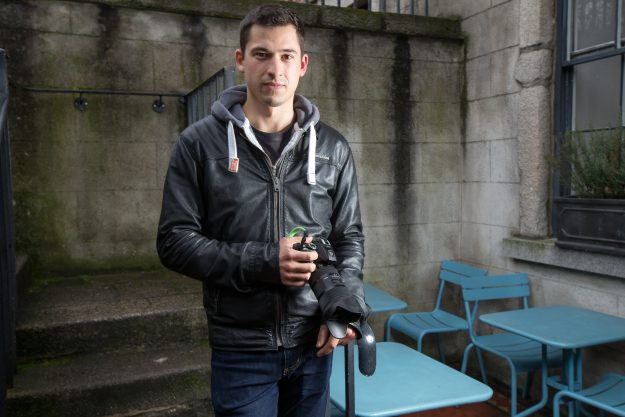 Photographer Peter Varga who compiles Humans of Dublin.