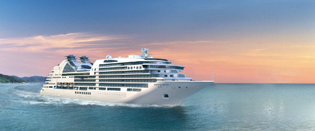 This cruise ship travels to mysterious destinations.