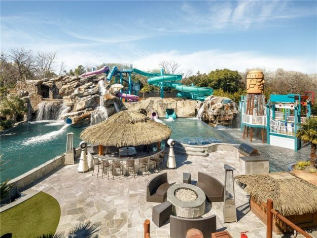 Mansions With Pools And Waterslides $32 million mansion in dallas comes with a water park