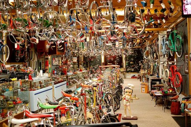 Bicycle Heaven in Pittsburgh is attracting tourists from all over the world. Image: Bicycle Heaven