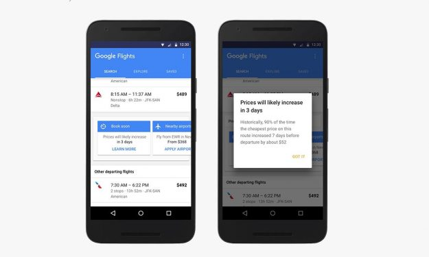 Google Flights will enable users to monitor flight prices and purchase them at the best time.