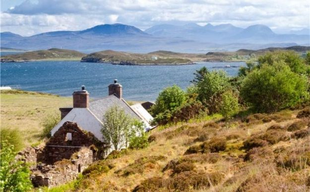This Scottish island is entirely self-sufficient.