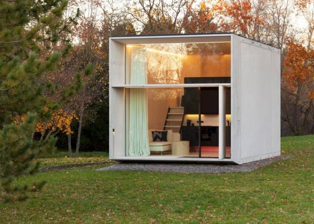 KODA is a tiny solar-powered house from Estonian design collective Kodasema. Image: Kodasema