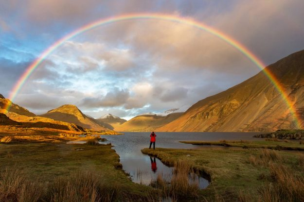 Image by: Mark Gilligan. Finding Gold, taken in Wast Water in Cumbria