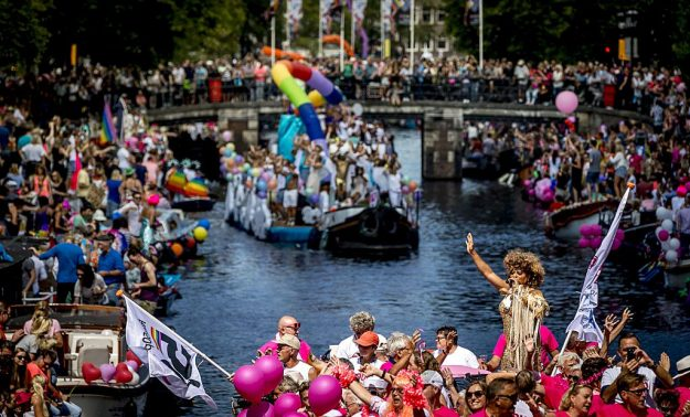 2016 Gay Pride / EuroPride festival took place in Amsterdam.