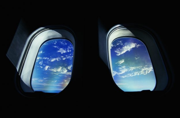 The relationship between seats and windows on an plane are not as imagined.