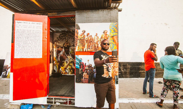 A Ghanaian writer, filmmaker and gallery owner is about to launch a series of portable museums that will take art and cultural artefacts to all ten regions of her country.