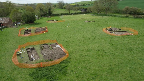 The dig by Historic England and Salisbury Museum took eight days