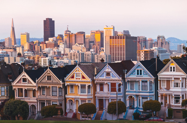 Houses known as Painted Ladies, San Francisco