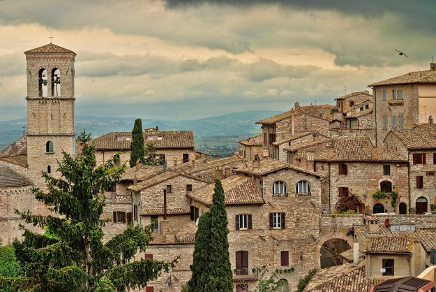 Ten hotels in Assisi are offering free stays to couples who conceive while staying there. Image: Ermanno Radice