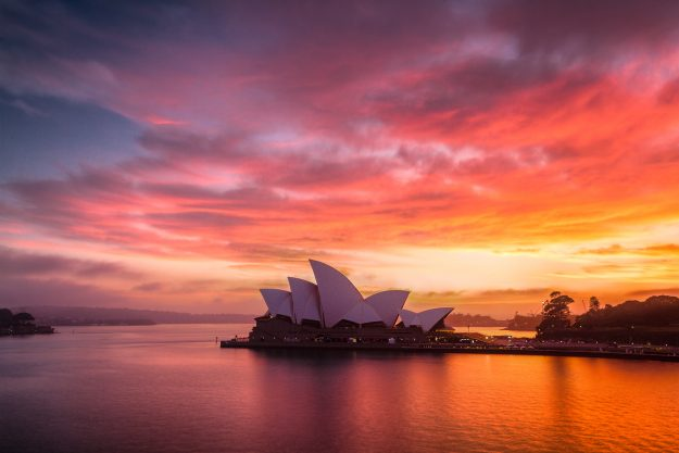 The visa is valid for travel to Sydney and Melbourne from Ireland.