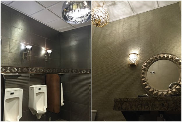 A gas station restroom in Alberta has been named the best in the country.