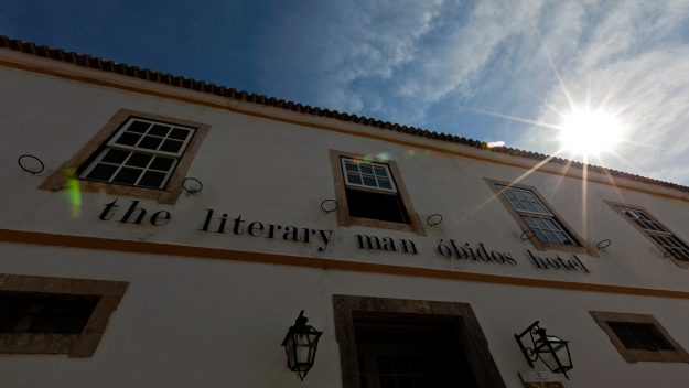 The Literary Man hotel in Obidos, Portugal, has more than 45,000 books. Image: The Literary Man