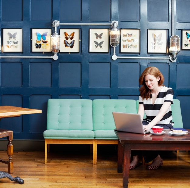 Workfrom features 5000 work spaces in 1,250 cities around the world.