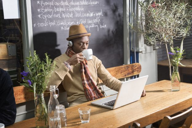 The Workfrom app allows people to easily find work spaces in cities around the world.