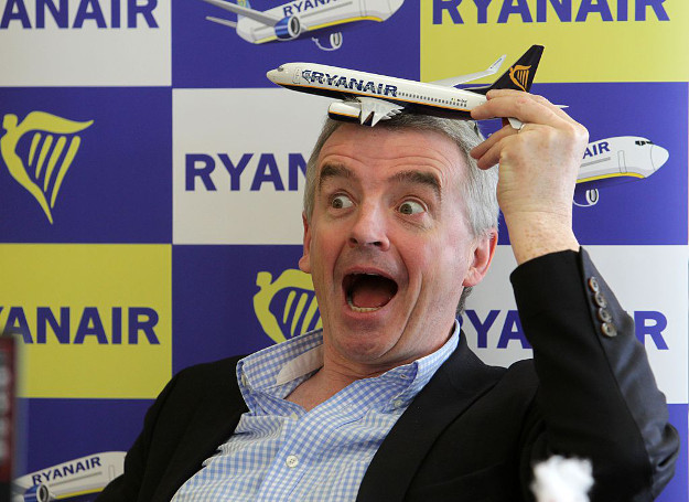 Michael O'Leary , CEO of Ryanair.
