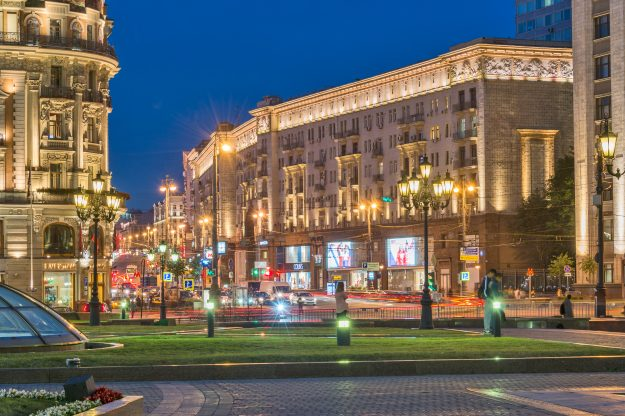 Among the plans for redevelopment is the city's main thoroughfare, Tverskaya.