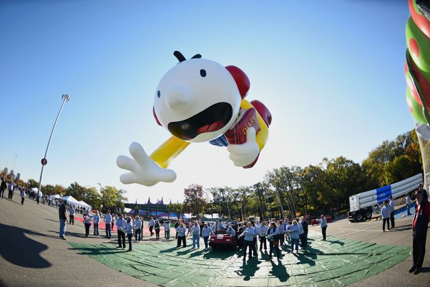 Diary of A Wimpy Kid flies at Macy's Balloonfest