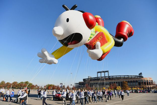 Diary of A Wimpy Kid flies at Macy's Balloonfest.
