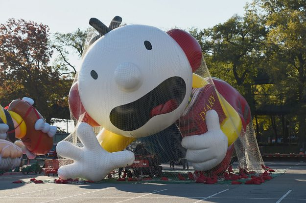 Diary of A Wimpy Kid inflates at Macy's Balloonfest