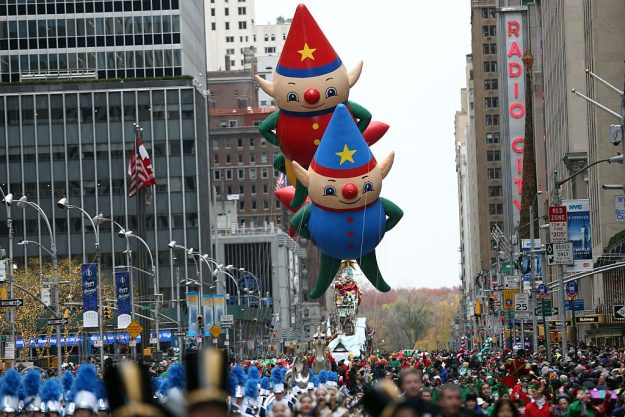 The 90th annual Macy's Thanksgiving Day Parade took place in New York. Image: Mohammed Elshamy/Anadolu Agency/Getty Images