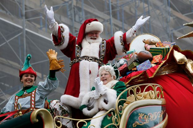 The 90th annual Macy's Thanksgiving Day Parade took place in New York. Image: Gary Hershorn/Getty Images