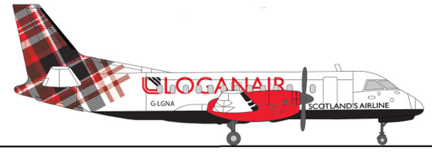 The design for Loganair.