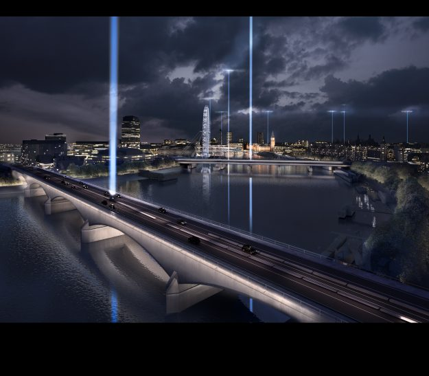"""The precise timing of each bridge will mark its geographical position and render the rotation of the earth visible in the """"Synchronizing the City"""" design."""