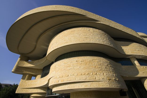 National Museum of the American Indian, The National Mall, Washington DC, USA