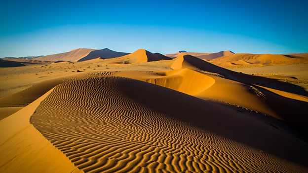 The new series of Planet Earth II visited nine desert locations. Image: BBC