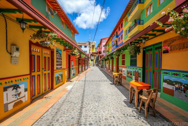is guatapé in colombia the most colourful town in the world