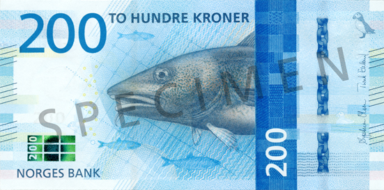 Norway's central bank has revealed the design of the country's new bank notes. Image: Norges Bank