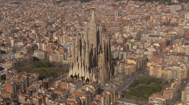 The world famous cathedral is one of the most popular tourist sites in Barcelona, despite being unfinished.