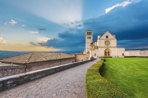 Basilica of St. Francis of Assisi in Umbria, Italy. Image: Jaroslaw Pawlak