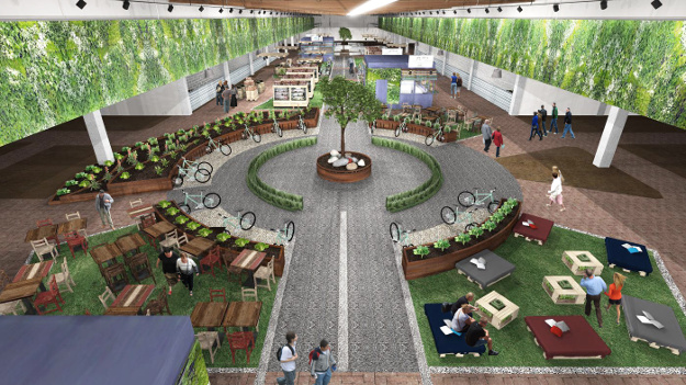 The experience will teach people about food from farm to table.