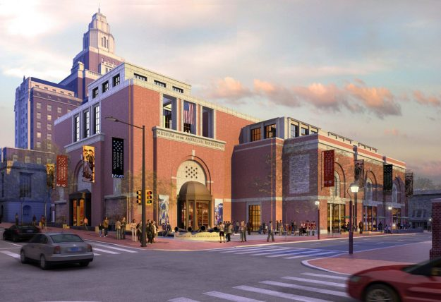 The Museum of American Revolution will sit in the heart of historic Philadelphia.