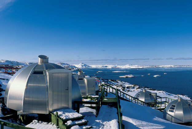 Four-star igloos at Greenland's Hotel Arctic.