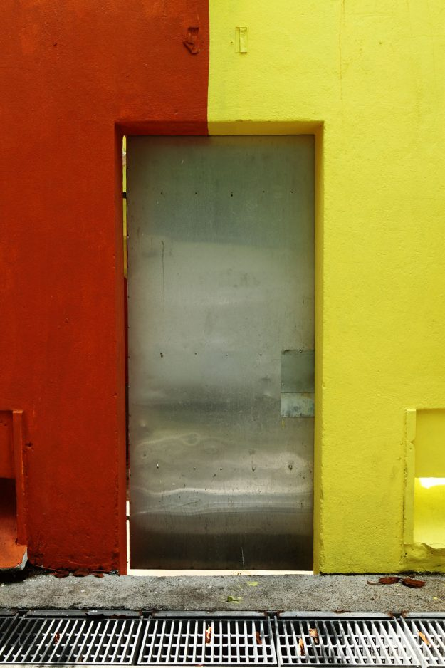 A door in the Changi road area.