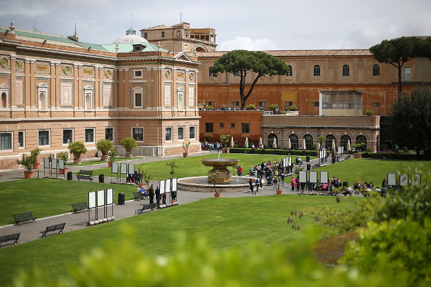Vatican appoints first female director of its museums.