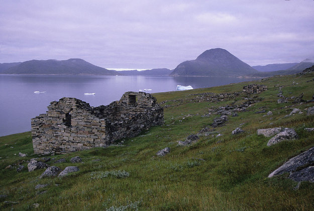 Remains Of Viking Settlement Church, Hvalsey, Southern Greenland.